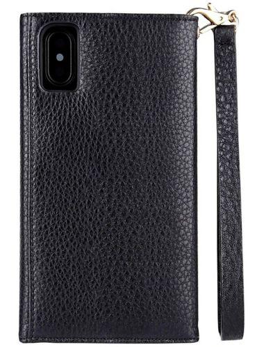 Case-Mate Folio Wristlet Case for iPhone X/Xs, Black Product image