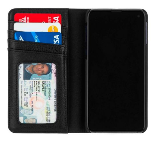 Case-Mate Wallet Folio Case for Samsung Galaxy S10e, Black Product image