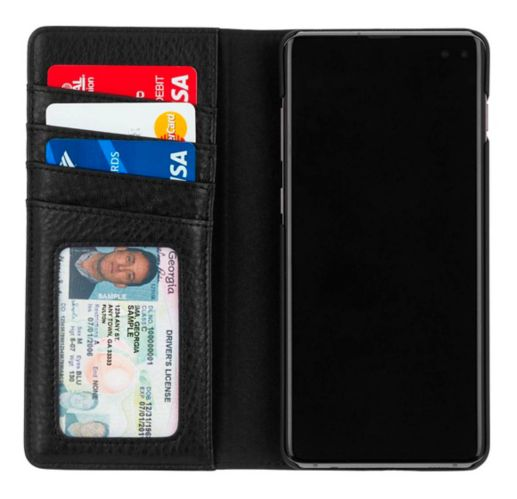 Case-Mate Wallet Folio Case for Samsung Galaxy S10+, Black Product image