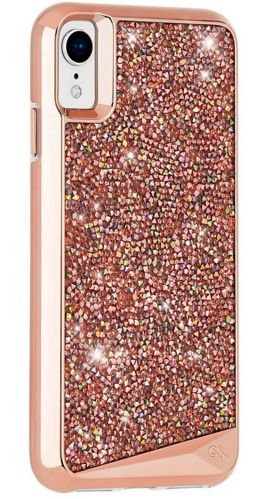 Case-Mate Brilliance Case for iPhone XR, Rose Gold Product image