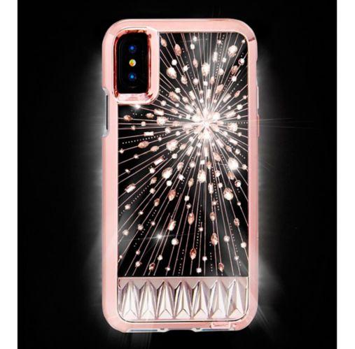 Étui Luminescent Case-Mate pour iPhone X/Xs, champagne Image de l'article