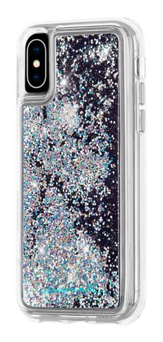 Case-Mate Waterfall Glitter Case for iPhone X, Iridescent Product image