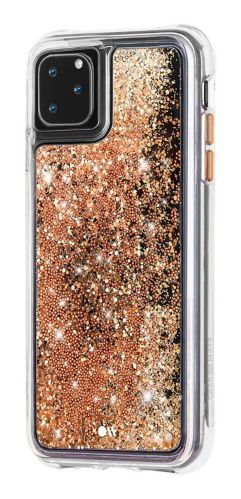 Étui Waterfall Glitter de Case-Mate pour iPhone 11 Pro Max, doré Image de l'article