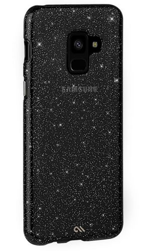Case-Mate Sheer Glam Case for Samsung Galaxy A8, Black Product image