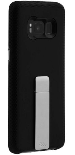 Case-Mate Tough Stand for Samsung Galaxy S8, Black/Silver Product image