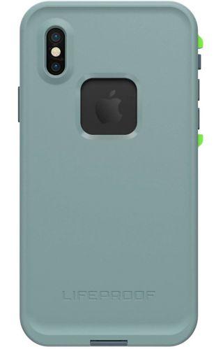 LifeProof FRĒ Case for iPhone X, Lime/Grey Product image