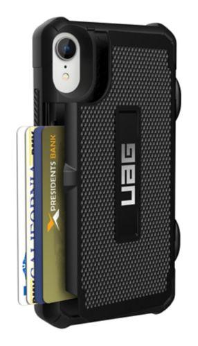 Étui porte-cartes UAG Trooper Series pour iPhone XR, noir Image de l'article