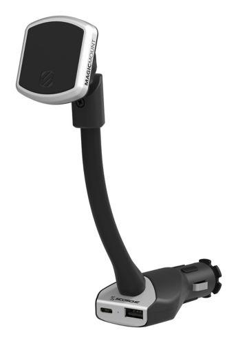 Support à prise électrique Scosche MagicMount<sup>TM</sup> USB-C/USB-A Image de l'article