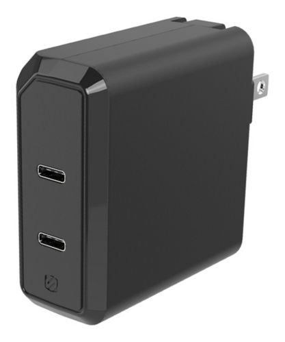 Chargeur pour l'auto Scosche double Power Delivery USB-C, 18 W, noir Image de l'article