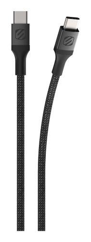 Câble de recharge tressé USB-C double, argent, 10 pi Image de l'article