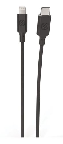 Scosche Lightning to Type-C Charge & Sync Cable, Black, 4-ft Product image