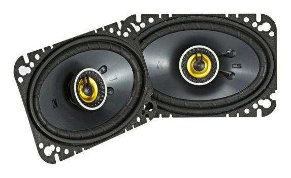 Haut-parleurs coaxiaux Kicker, 4 x 6 po Image de l'article