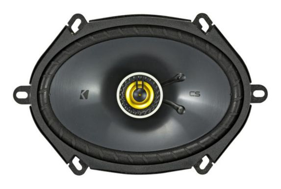 Kicker Coaxial Speakers, 6-in x 8-in Product image
