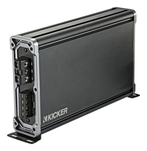 Kicker 1200W Mono Class D Subwoofer Amplifier Product image