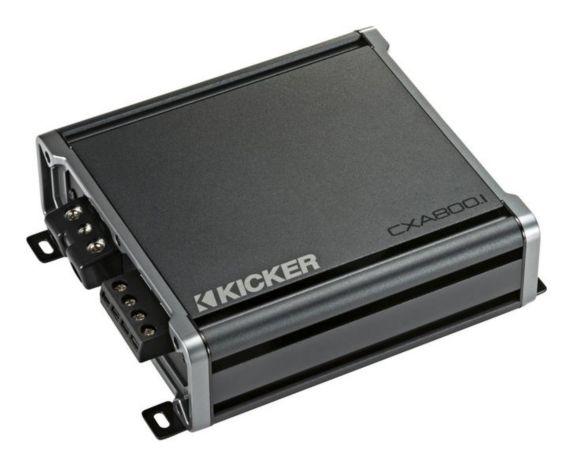 Amplificateur de caisson de graves mono Kicker, classe D, 800 W Image de l'article