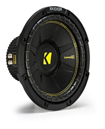 Kicker Dual Voice Coil Subwoofer, 10-in Product image