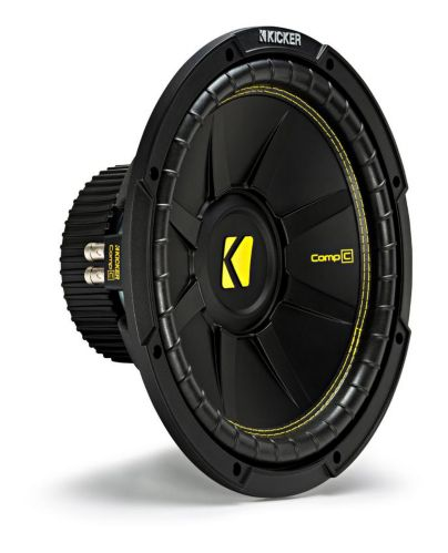 Kicker Dual Voice Coil Subwoofer, 12-in Product image