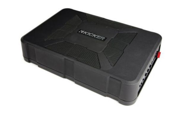 Kicker Powered Loaded Hideaway Enclosure, 8-in Product image