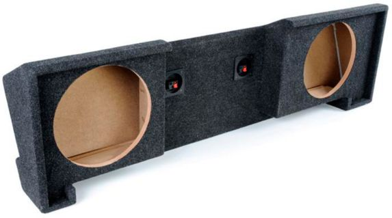 Kicker ATREND GM Extended Cab '88-'98 Dual Subwoofer Enclosure, 12-in Product image