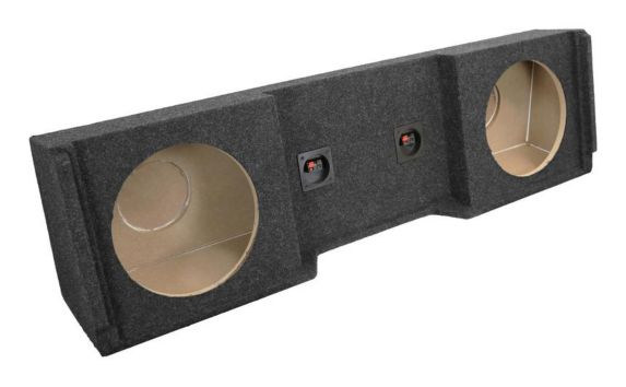 Kicker ATREND GM Extended Cab '99-'07 Dual Subwoofer Enclosure, 12-in Product image