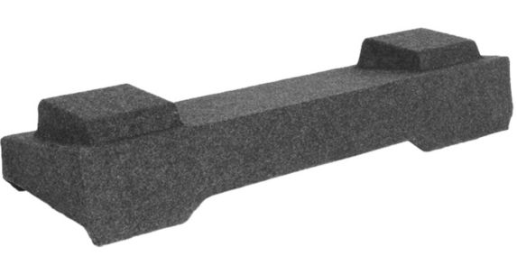 Kicker ATREND GM Light-Duty Crew '03-'07 Dual Subwoofer Enclosure, 10-in Product image