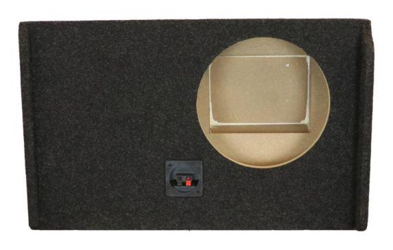 Caisson simple de haut-parleur Kicker ATREND pour GM à cabine multiplace, 2007 et plus, 10 po Image de l'article