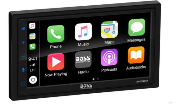 Boss 2-DIN Bluetooth In-Dash Mechless Digital Media Car Stereo Receiver Product image