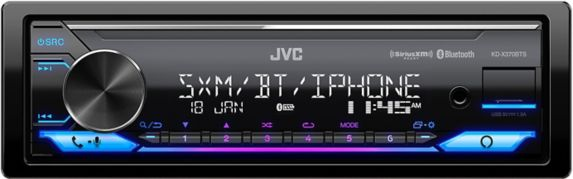 JVC X370BTS 1-Din Digital Media Receiver Product image