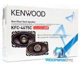 Haut-parleur pour l'auto 60W à 2voies KenwoodKFC-4675C, 4 x 6po | Kenwoodnull
