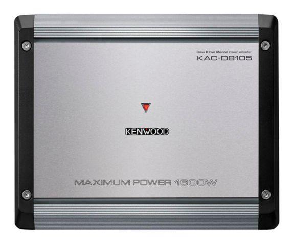 Kenwood KAC-M8005 Class D 5-Channel Marine Power Amplifier Product image