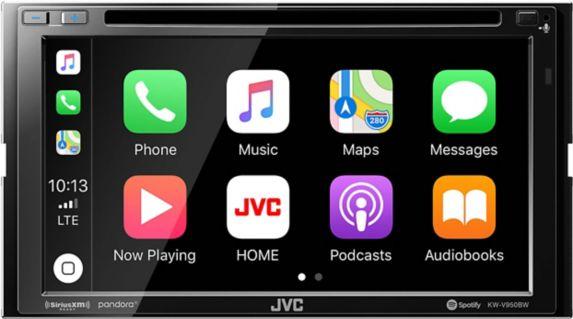 JVC KW-V950BW 2-DIN Multimedia AV Receiver, 6.8-in Product image