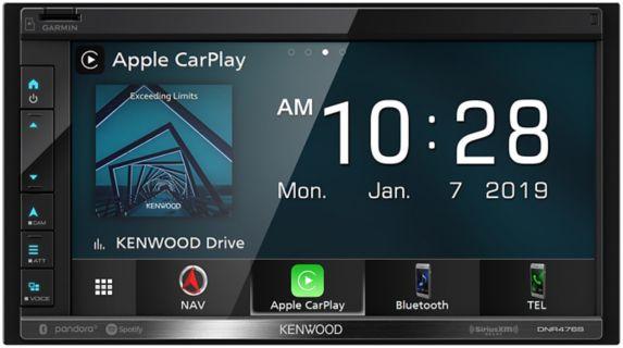 Récepteur multimédia numérique avec navigation et Bluetooth KenwoodDNR476S, 6,8po Image de l'article