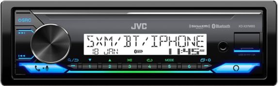 JVC KD-X37MBS Marine / MotorSports Digital Media Receiver, 2.7-in Product image