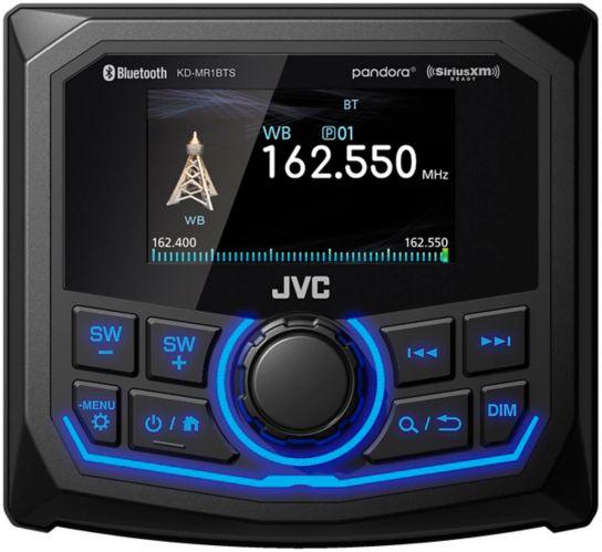 Récepteur média numérique pour bateau/motomarine JVCKD-MR1BTS, 2,7po Image de l'article