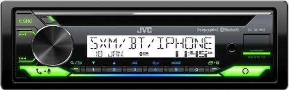 Lecteur de CD à simple DIN pour bateau/motomarine JVCKD-T91MBS Image de l'article