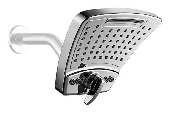 PULSE ShowerSpas PowerShot Showerhead, Chrome Product image