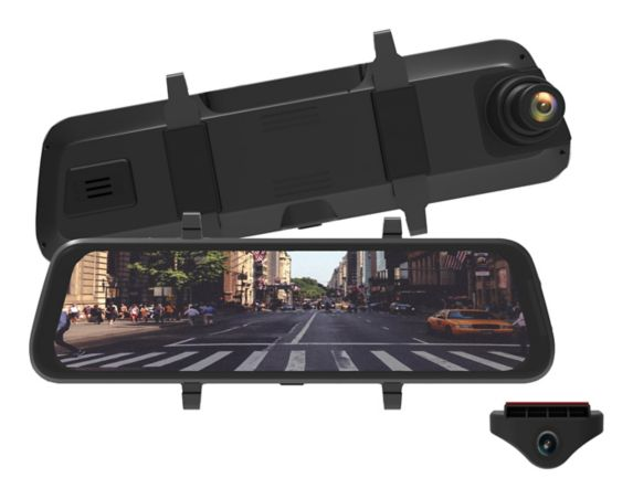 myGEKOgear Infiniview Lite 3-in-Rearview Mirror, Dash Cam & Back Up Camera Product image