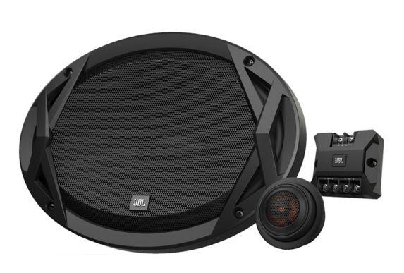Haut-parleurs à composantes 2 voies de 152x229mm (6x9po) de JBL avec filtre Image de l'article