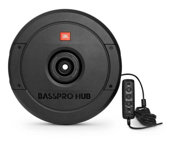JBL BassPro Hub Spare Tire Fiberglass Subwoofer Product image
