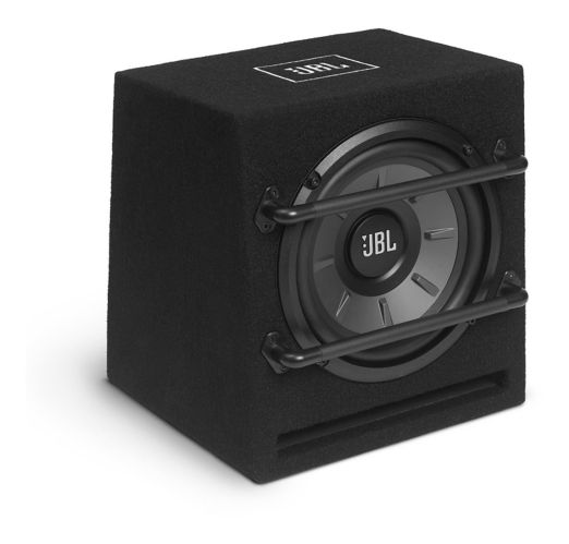 JBL Stage 800BA Powered Ported Subwoofer Enclosure, 8-in Product image