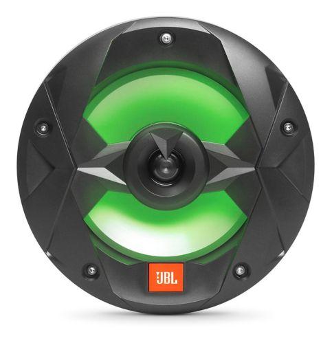 JBL 8-in 150W 2-Way Marine Speaker with RGB Lighting, Black Product image