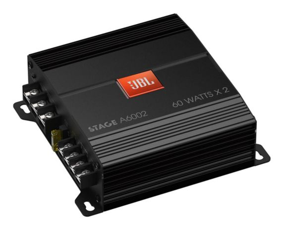 JBL Stage 2-Channel Class D Car Audio Amplifier Product image
