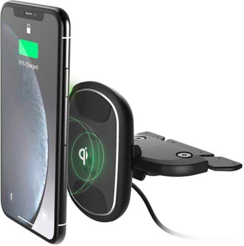 Support magnétique pour fente à CD iOttie iTap 2 Wireless, noir Image de l'article