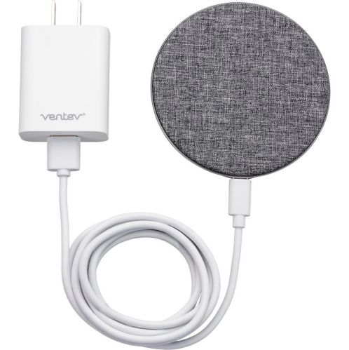 Ventev 10W Qi Fast Charging Wireless Chargepad, Grey Product image