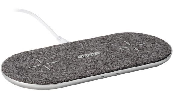 Chargeur Ventev Qi 10W Wireless Duo, gris Image de l'article