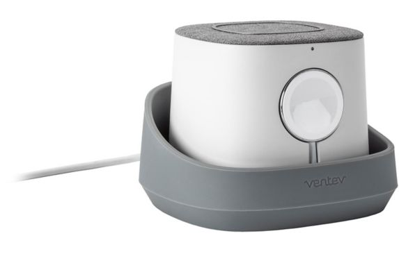 Ventev 10W Qi Wireless Charger Watchdock Duo, Grey Product image