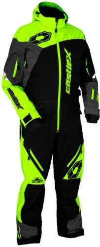 Castle X Freedom Monosuit Shell Hi-Vis, Black/ Charcoal Product image