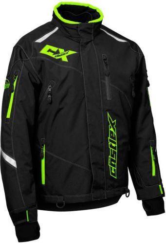 Castle X Thrust Snowmobile Jacket Hi-Vis, Black Product image