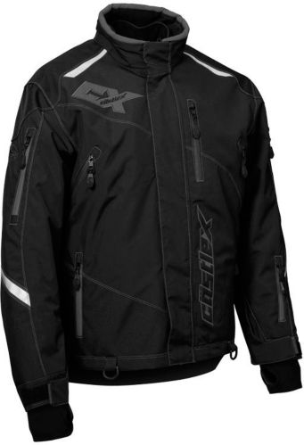 Castle X Thrust Snowmobile Jacket, Black/ Grey, Tall Product image