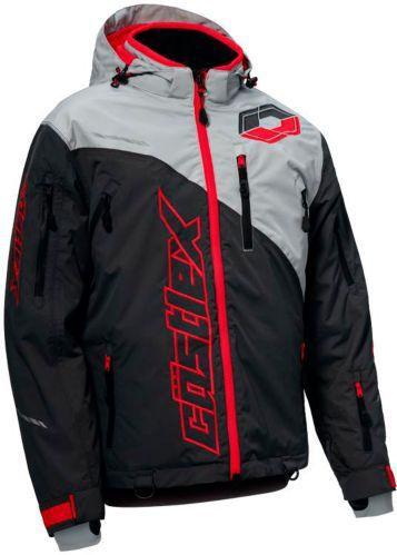 Manteau de motoneige Castle X Stance, anthracite/argenté/rouge Image de l'article